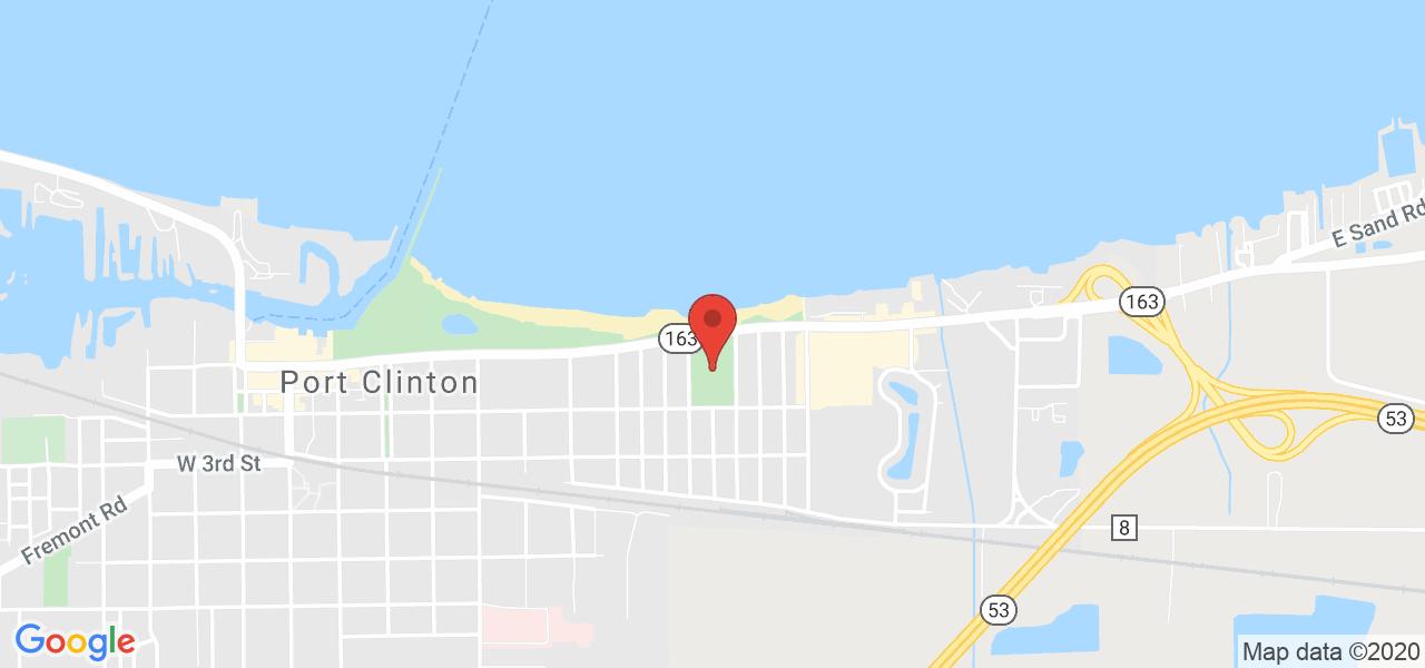 Mapa de Google para coordenadas 41.513135 por -82.924808.