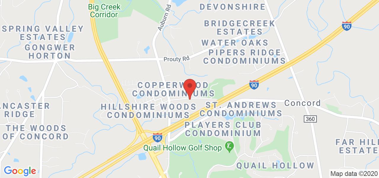 Mapa de Google para las coordenadas 41.674844 por -81.240869.