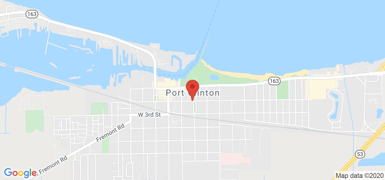 Mapa de Google para coordenadas 41.511995 por -82.937692.