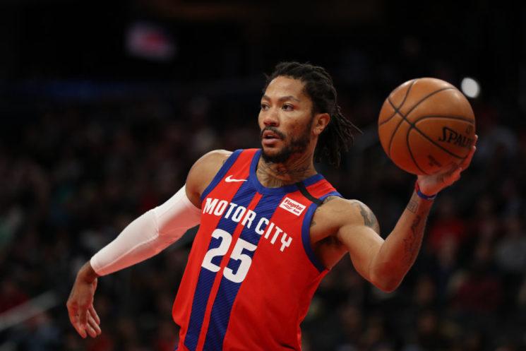 Lakers, Sixers entre los equipos interesados en Derrick Rose