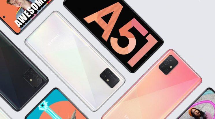 llegan los Galaxy A71 y A51 a España