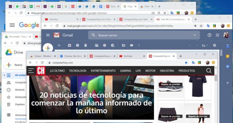 Google Chrome permite agrupar pestañas para que tu escritorio deje de ser un caos