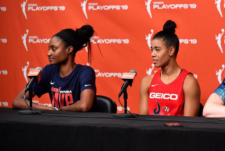 Natasha Cloud de Mystics, LaToya Sanders se sentará en la temporada 2020 de la WNBA