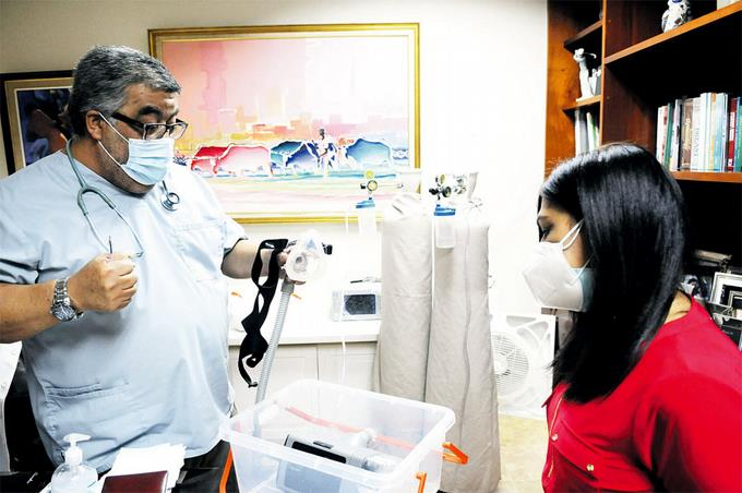 Crean en el país ventilador que reduce 96% la intubación