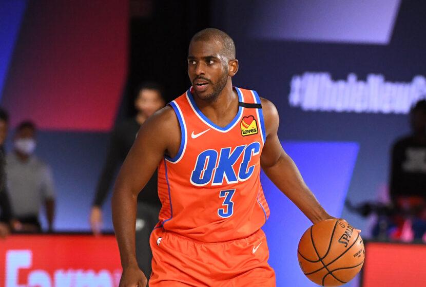 Suns, Thunder finalizan el intercambio de Chris Paul