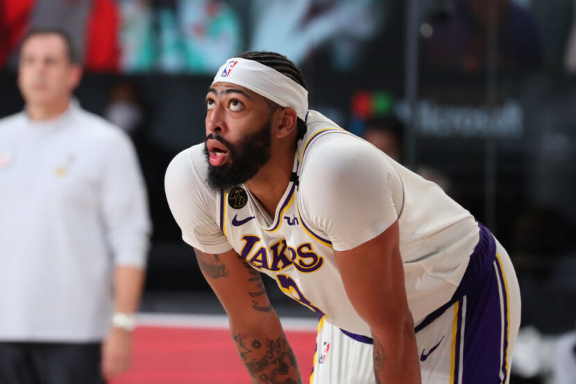 El estado de Anthony Davis es incierto para el juego 5 contra Phoenix Suns