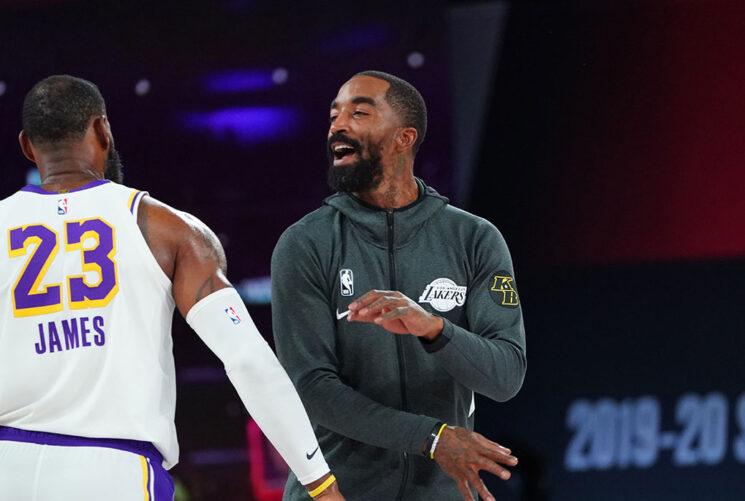 JR Smith sobre el papel de los Lakers: 'Fue una de las cosas más difíciles que realmente tuve que hacer'