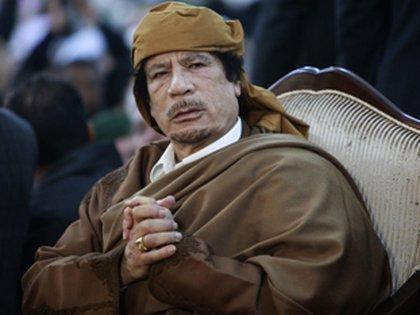 La CPI pidió la captura de Gaddafi en 2011, pero terminó siendo ejecutado en medio de la guerra civil libia (Reuters)