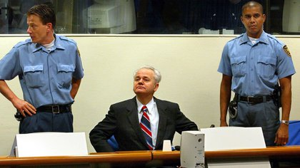 Slobodan Milosevic murió en el centro de detención de La Haya (AFP)