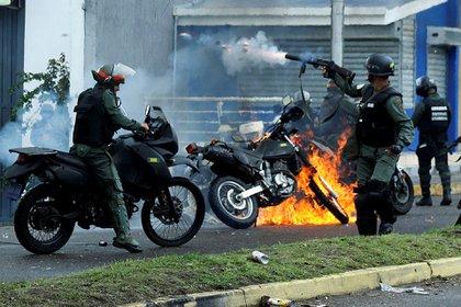 La CPI apuntó contra las fuerzas de seguridad que responden a Maduro (Reuters)
