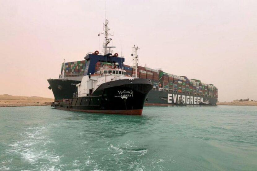 ATENCION;Canal de Suez, una de las rutas comerciales marítimas más transitadas del mundo, bloqueada después de que un barco gigante se atascara