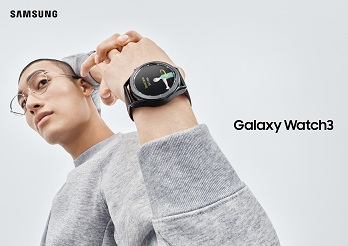 El Galaxy Watch3 funciona con estilo y a favor de tu salud