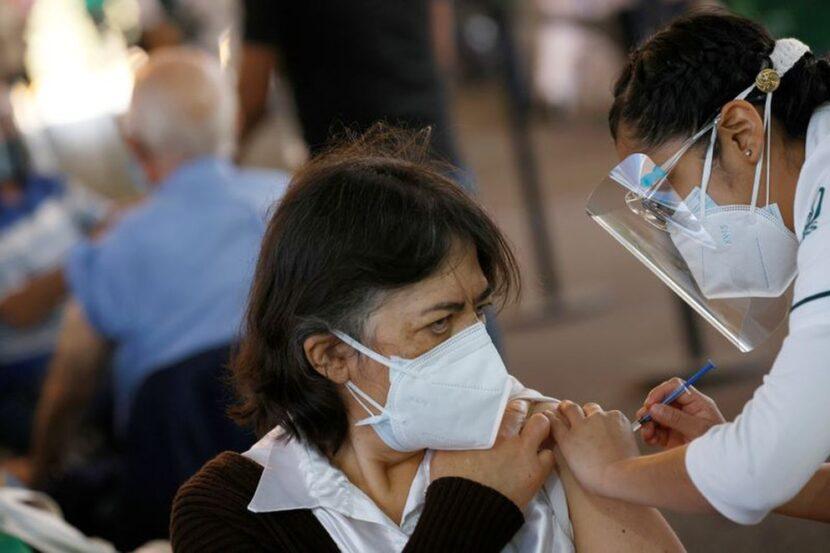 El avance de la vacunación contra el coronavirus en el mundo,