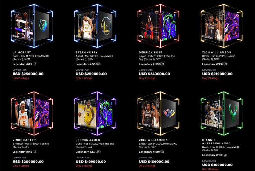 El futuro es ahora: NBA Top Shot es la nueva frontera digital