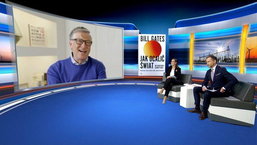 La única entrevista en Polonia con Bill Gates ya el jueves en Wyborcza.pl