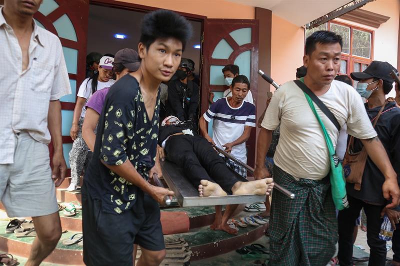 Los muertos por la violencia militar superan ya los 400 en Birmania Los muertos por la violencia militar superan ya los 400 en Birmania