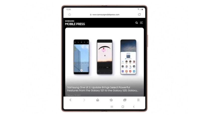 One UI 3.1 te brinda más y mejores interacciones en tu Galaxy Z Fold2