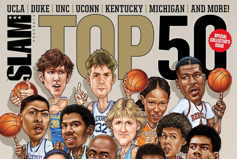 SLAM presenta Top 50: Los mejores equipos universitarios de todos los tiempos