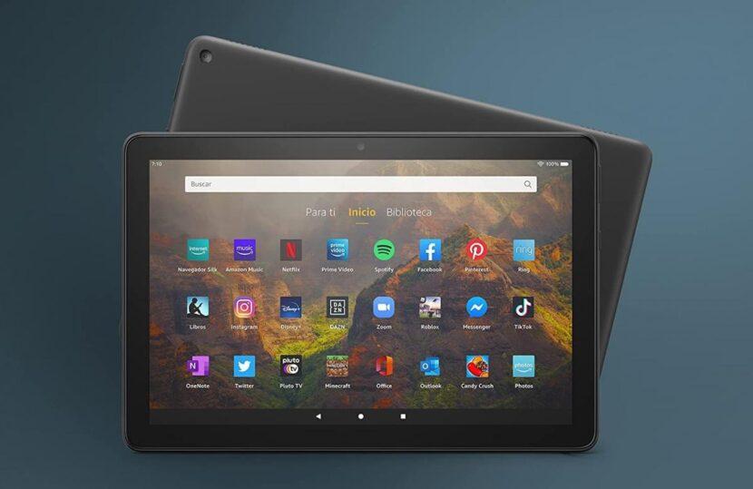 Amazon pone a la venta su nueva tablet Fire HD 10 (2021), con el doble de memoria RAM y marcos más finos