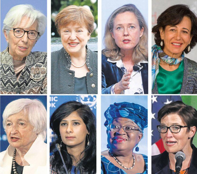 Así son ocho de las mujeres que manejan la economía mundial
