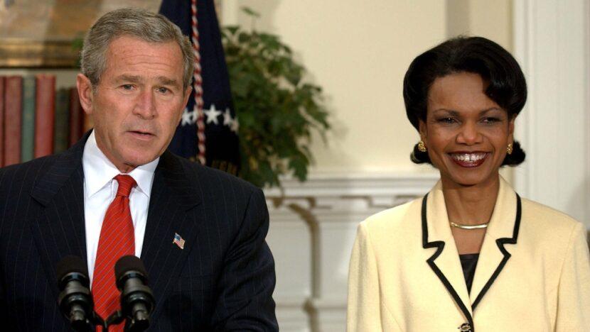 Bush dice que escribió en Condoleezza Rice para presidente en 2020