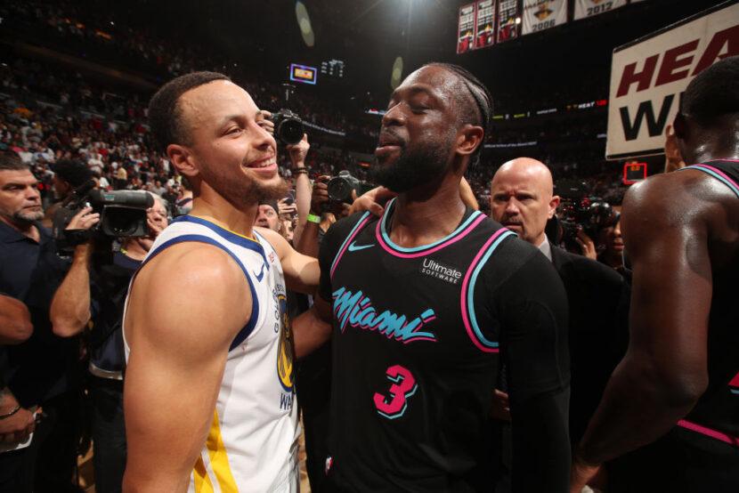 Dwyane Wade llama a Steph Curry imposible de proteger