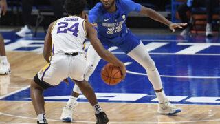 El estudiante de primer año de LSU, Cam Thomas, ingresa su nombre en el Draft de la NBA