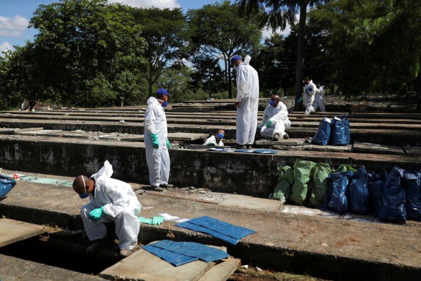 El sistema sanitario de San Pablo está colapsado por el coronavirus: