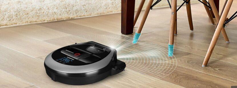 Ganas salud, confort y tiempo libre cuando activas tu aspiradora Samsung para limpiar la casa