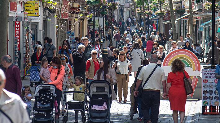 """Gibraltar, el pequeño """"oasis"""" de Europa gracias a la vacunación"""