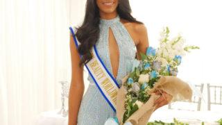 Joeli Monserrat ganadora Miss Belleza MarinaSin duda fue una noche llena de belleza Dominicana.
