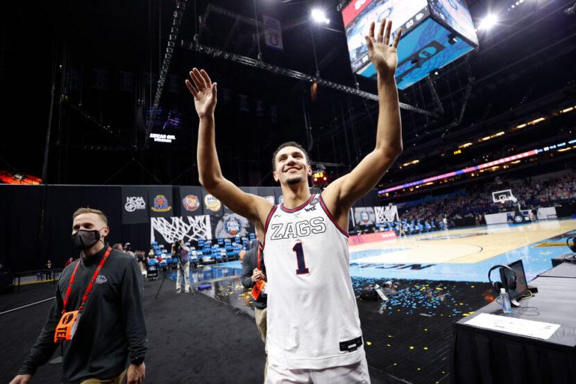 La estrella de primer año de Gonzaga, Jalen Suggs, se declara para el Draft de la NBA de 2021