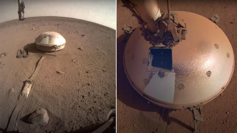 La sonda InSight de la NASA detecta dos fuertes terremotos en Marte