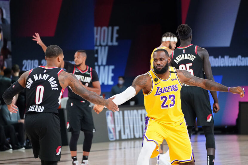 LeBron James intentó reclutar a Damian Lillard en 2018
