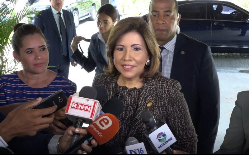 Margarita Cedeño asegura el PLD volverá a gobernar en el 2024