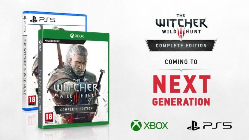 The Witcher 3 saldrá en PlayStation 5 y Xbox Series X a finales de 2021
