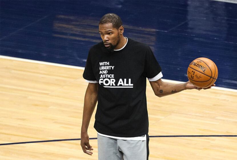 Timberwolves-Nets abogan por justicia tras el tiroteo de Daunte Wright
