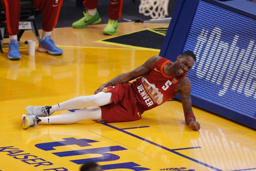 Will Barton de los Nuggets fuera indefinidamente después de una lesión en la rodilla