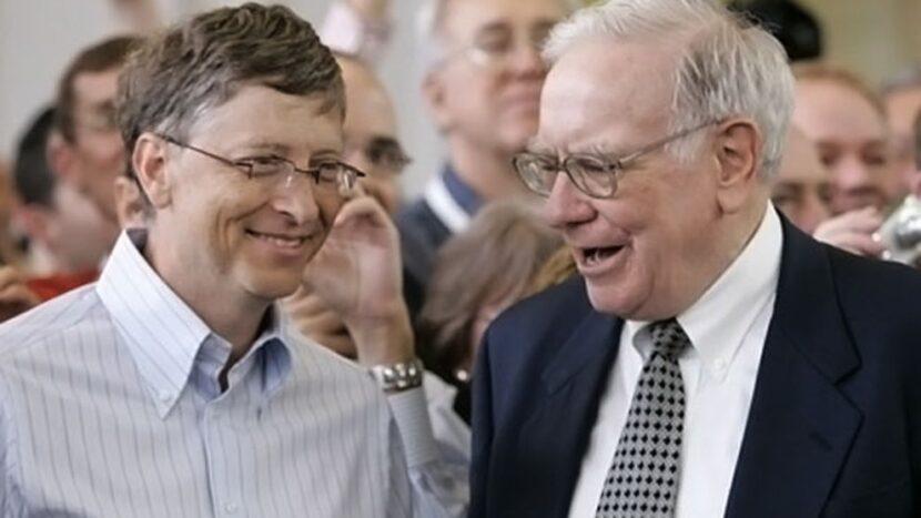 quién es el mejor amigo y gurú de Bill Gates,