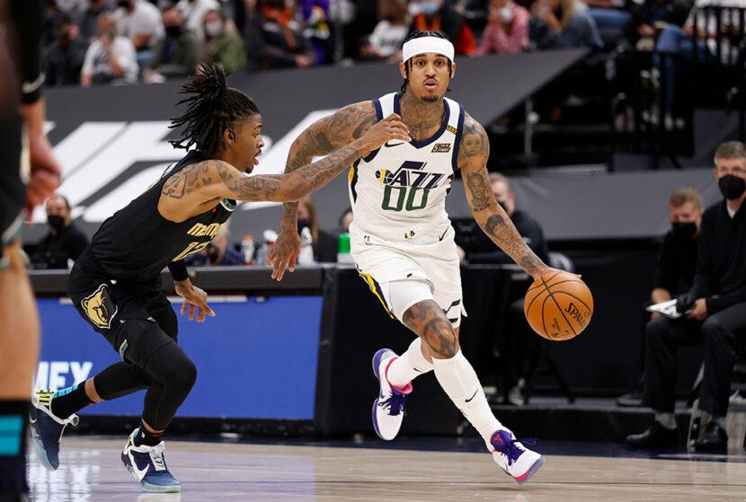 Jordan Clarkson de Utah Jazz gana el premio al Sexto Hombre de la NBA