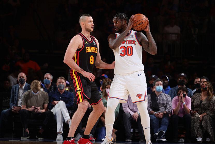 Julius Randle de los Knicks gana el premio al jugador más mejorado de la NBA Kia 2020-21