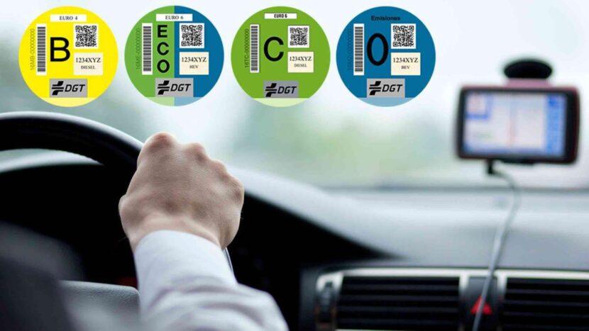 DGT lanza un importante mensaje sobre las actuales etiquetas medioambientales