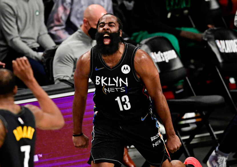 El triple-doble de 30 puntos de James Harden asegura la victoria de la serie 4-1 sobre los Celtics
