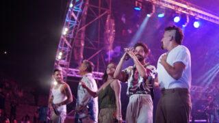 Los Montaner dedican concierto a memoria de Johnny Ventura